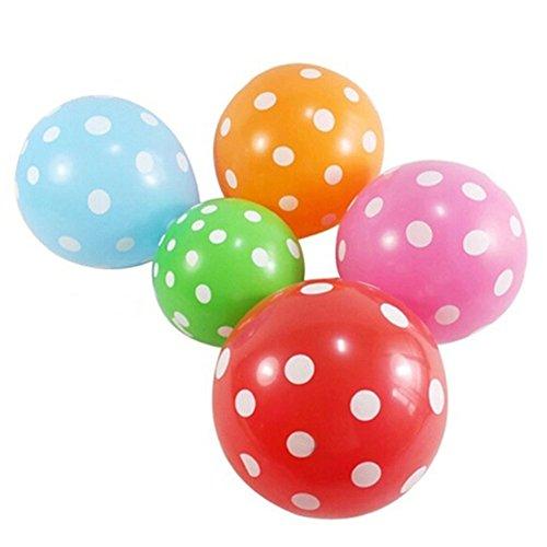 epunktet, verschiedene Farben, für Hochzeiten, Geburtstage, Partys, Unterhaltung, Urlaub und besondere Anlässe, Dekoration, Basteln, 10 Stück Free Size Zufällig ()