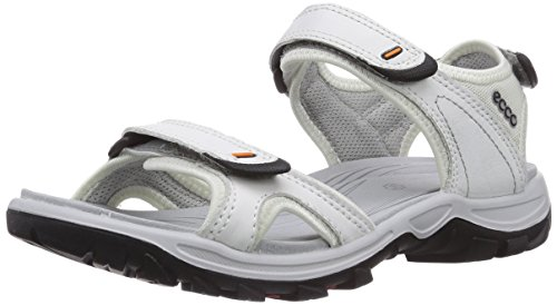 Ecco ECCO OFFROAD LITE, Damen Sport- & Outdoor Sandalen, Weiß (WHITE/SHADOW WHITE52292), 39 EU (11.5 Damen UK)
