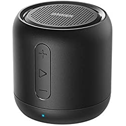 Anker SoundCore mini, Bluetooth Speaker, Super-Portable Bluetooth Speaker with 15-Hour Playtime, 66-Foot Bluetooth Range, Enhanced Bass