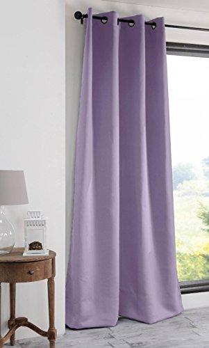 Lovely casa notte tenda oscurante, poliestere, lilla, 135x 250cm