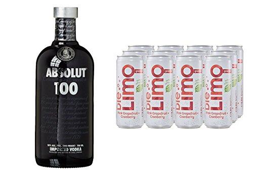 absolut-100-wodka-1-x-07-l-mit-die-limo-von-granini-pink-grapefruit-cranberry-12-x-330-ml