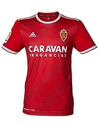 adidas Camiseta Real Zaragoza Segunda Equipación 2018-2019 Red-White Talla M