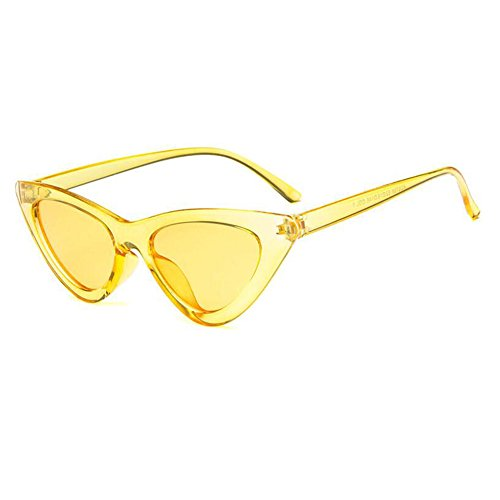 Yefree Fashion Cat Eye Sonnenbrille Vintage Mod Stil Retro Brillen
