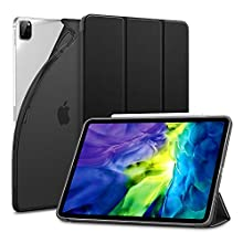 ESR Case for iPad Pro 11 2020 & 2018, Rebound Slim Smart Case with Auto Sleep/Wake [Viewing/Typing Stand Mode] [Flexible TPU Back with Rubberized Cover] for iPad Pro 11 2020 2nd Gen- Black