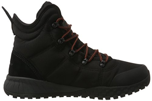 Scarponi Da Neve Columbia Mens Fairbanks Omni-heat Neri (nero / Arrugginito)