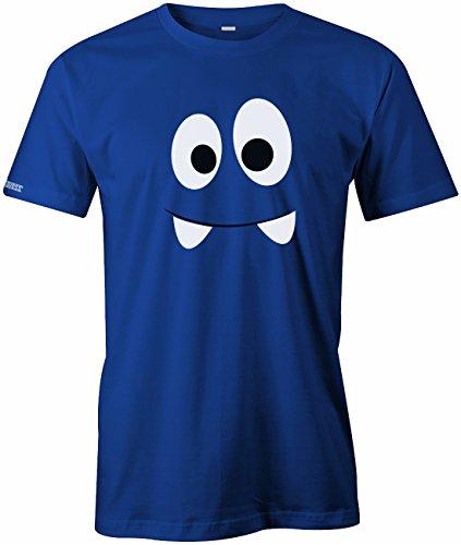 Schreckliches Monster Shirt - Kostüm - HERREN - T-SHIRT in Royalblau by Jayess Gr. - Schrecklich Herren Kostüm