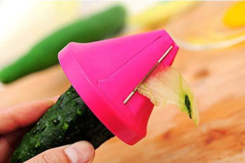 MUXIZI Imbuto Forma Pratica Di Plastica Di Verdure Spirale Affettatrice Grattugia Gadget Da Cucina