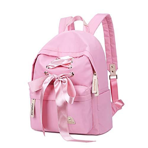 Jansport Geldbörse (Jansport Superbreak Backpack Student Campus Tasche Persönlichkeit Mode Bogen Band Geldbörse Niedliche große Kapazität Rucksack)