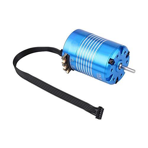 Jadpes Sense Brushless Motor, 2 Pole 540 4.5T / 13.5T Sensored Brushless Motor RC Teil für 1/10 ferngesteuertes Auto(13.5T) Display Pole Mount