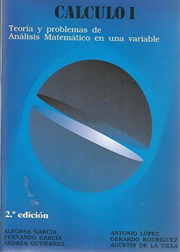 Calculo I por Alfonsa Garcia Lopez