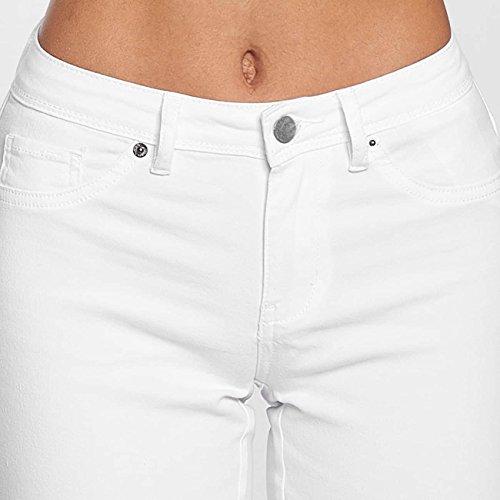 JACQUELINE de YONG Damen Jeans / Skinny Jeans jdyNew Five Weiß