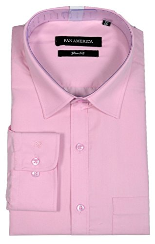 PAN AMERICA Men's Formal Slimfit Shirt