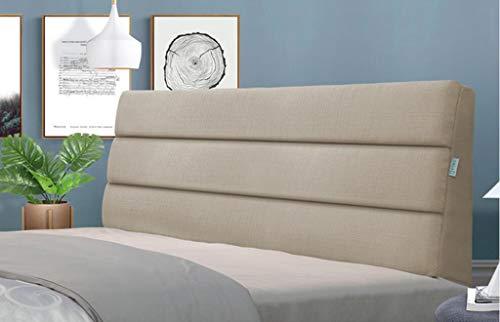 XUEYAN Bedside weiche Tasche großen Rücken Doppelbett Kissen Stoff Bettdecke Tatami abnehmbar und...