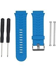Para Garmin Forerunner 920XT GPS Watch,Xinan Correa de Reloj Correa y Adaptadores Agarraderas (Azul)