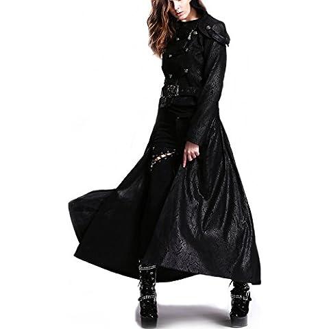 Signore del cappotto del rivestimento di Visual Kei giacca Devi moda gotica per breve easybiz Top