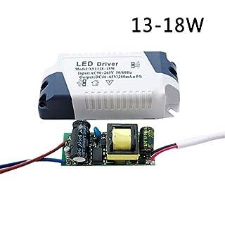 DIY LED Driver 3W-24W Dimmbare Ceilling Licht Lampe Transformator Netzteil (13-18W)