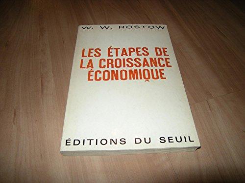 Les étapes de la croissance économique