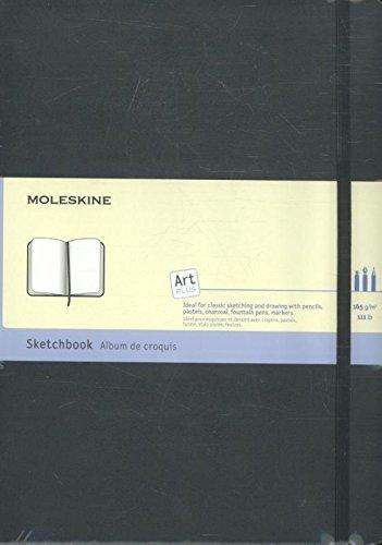 Moleskine Folio Art Skizzenbuch A4, Hardcover schwarz