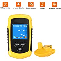 Buscador De Peces Portable Sonar Wireless Fish Finder Color Pantalla Visual HD Pesca Granja Pescado Sonic Buscador De Peces