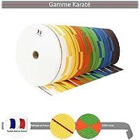 Noris - Rouleau ceinture karate couleur