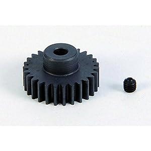 Carson 500011107-Piñón de Motor, 27Dientes, M 0.6Acero