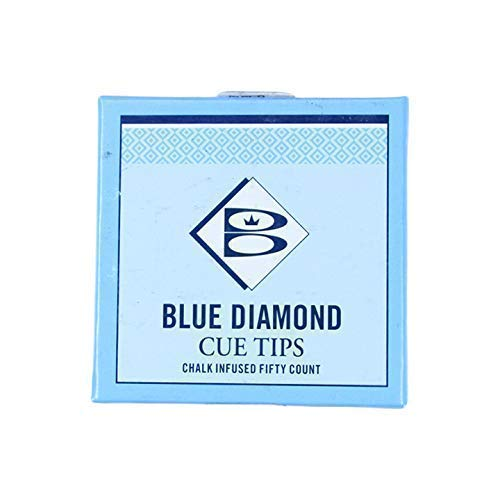 Brunswick Klebeleder Blue Diamond, 5 Stück, 12mm -