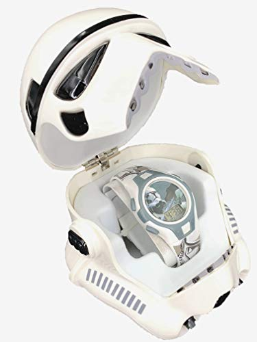 Desconocido Kids Licensing - SW92185 - Star Wars VII - Reloj Digital en Caja 3D Trooper