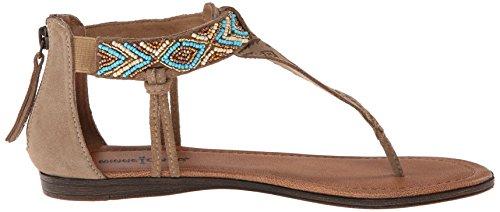 Minnetonka Antigua Damen Zehentrenner Beige (Taupe / TPE)