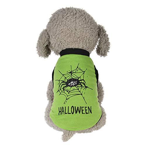 lloween Stil Cute Pet Weste Kleidung Kleine Welpen Kostüm Haustier Katze Hund Pullover Gotisch Hundebekleidung Haustierpullover Hündchen Hundepullover Hundeshirts ()