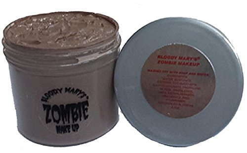 Bloody Mary F/X Zombie-Paste, 5020Z, Decay Grey, Small/.5-Ounce