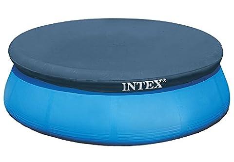 Intex Abdeckplane für Easy-Set pool 3,66 m, blau, 366x366x0,1 cm, 28022