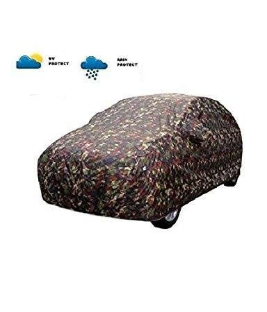 Branded (TGP GROUP) Jungle Printed Water Resistant Car Body Cover for Mahindra KUV100 NXT
