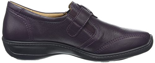 Hotter Francis, oxford Chaussures femme Violet - Purple (Plum)