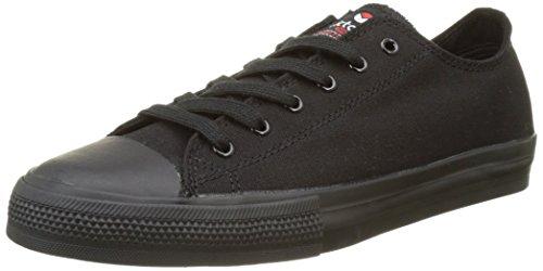 Victoria - Zapato Basket Piso Negro, Basse Unisex – Adulto Nero (Negro)