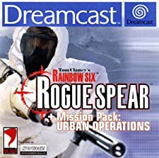 Tom Clancy's Rainbow Six Rogue Spear + Mission Pack Urban Operations - Sega Dreamcast