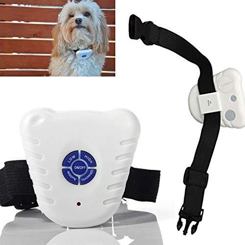 Anti Bark Dog - 1 Pc Ultrasonic Anti Bark No Barking Pet Big Small Dog Training Control Collar P0.21 - Mini Needed Control Rechargable Shock Halter Products Bite Devices Remote Mist Trainer C -