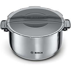 Bosch MAZ8BI Accesorio Olla, 5 litros, Acero Inoxidable, Negro