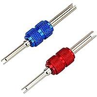 BESTOMZ Ventildreher Ventil schrauber Reifenventil Reparatur Ventil Core Remover Werkzeug 2 Stück