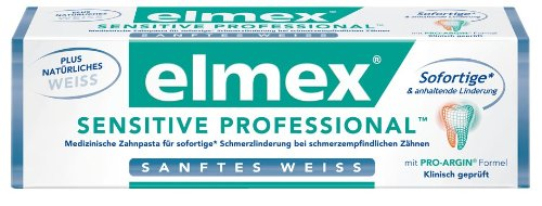 Elmex Sensitive Professional Sanftes Weiß, 75 ml
