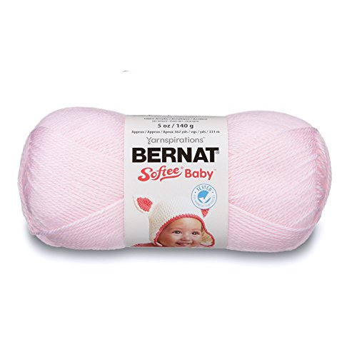 Bernat Softee Baby-Garn, Sonstige, Rose, 11.16 x 21.98 x 12.94 cm -