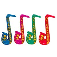 Inflatable Saxophone (Qty one per order)