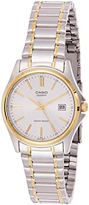 Casio Women's Silver Dial Stainless Steel Analog Watch - LTP-1183G-