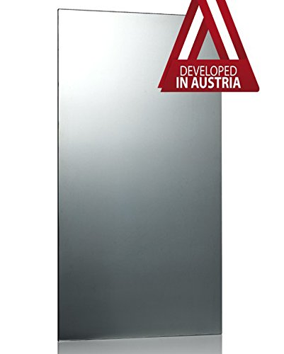 Infrarotheizung Spiegel rahmenlos, 800 Watt - 120x60x2,5 cm