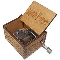 """wishing Mano Pura Juego de Tronos clásico Caja de música Mano Caja de música de Madera artesanía de Madera Creativa Mejores Regalos """"Harry Potter"""""""
