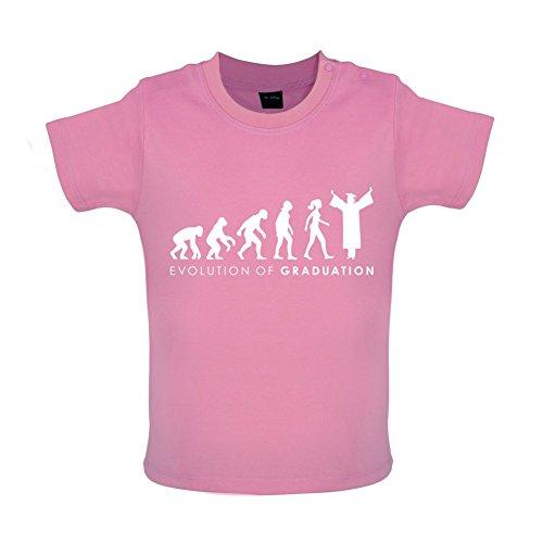 Evolution of Woman - Graduation - Baby T-Shirt - Bubble-Gum-Pink - 6 bis 12 Monate
