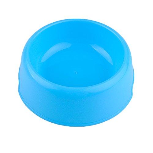 hmocnv Kunststoff Hartschale Fressnäpfen Dog Pet Food Bowl rutschfest Puppy Katze Schale klein Utensilien Kaninchen Dish Bowl Feeding Bewässerung Supplies Candy Farbe -