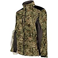 04004baba5836 Ligne Verney-Carron Blouson Homme Softshell Schlange – Ghost Camo Snake  Forest – Ghost Camo