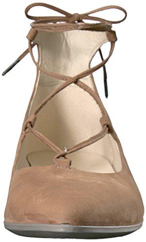Ecco Shape Pointy Ballerina, Ballerines Femme Camel