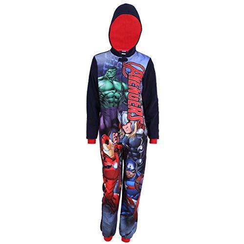Marvel Avengers Harry Potter Gryffindor, Jungen Strampelanzug, Schlafanzug, Onesie, Einteiler - 9-10 Jahre 140 cm