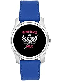 BigOwl Princesses Are Born In May | Birthday Gifts For Girls Fashion Watches For Girls - Awesome Gift For Daughter...